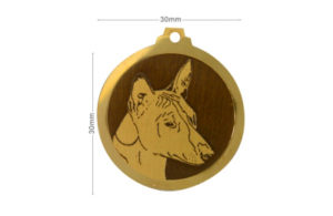 Médaille Basenji