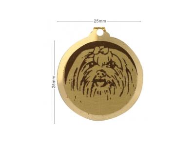 Médaille Bichon Maltais