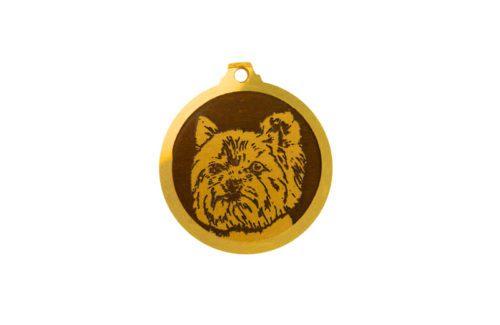 Médaille Yorkshire Terrier